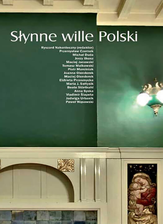 """Książka """"Słynne Wille Polski"""""""