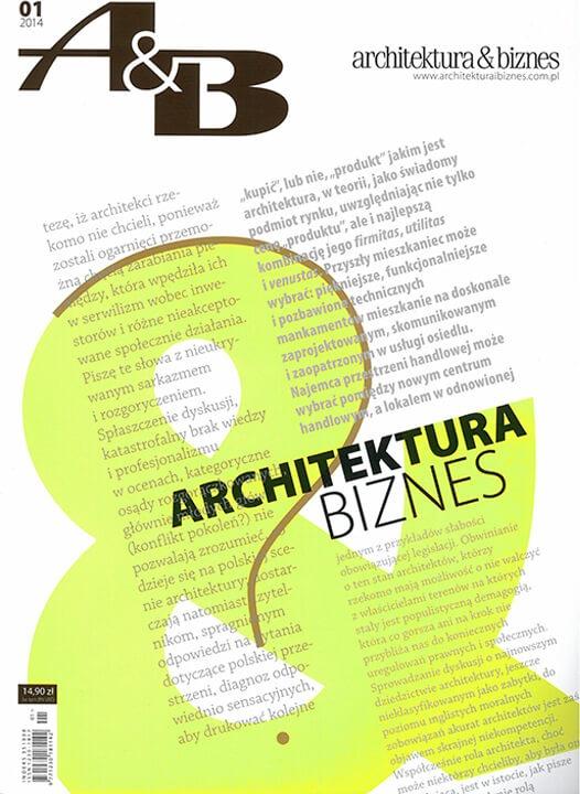 Architektura&Biznes 01/2014