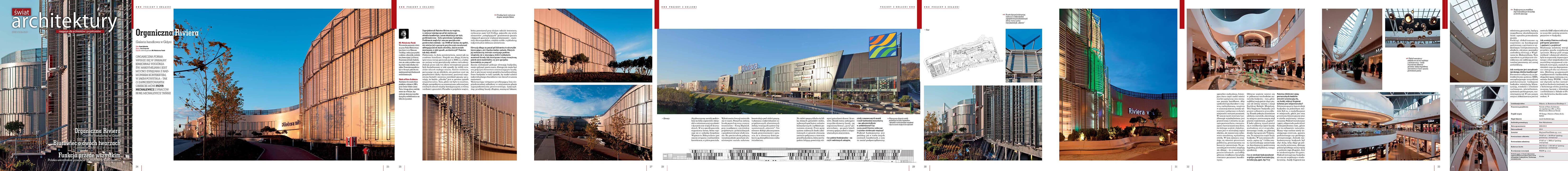 Ch Riviera in Gdynia - Świat Architektury 01 (42) / 14