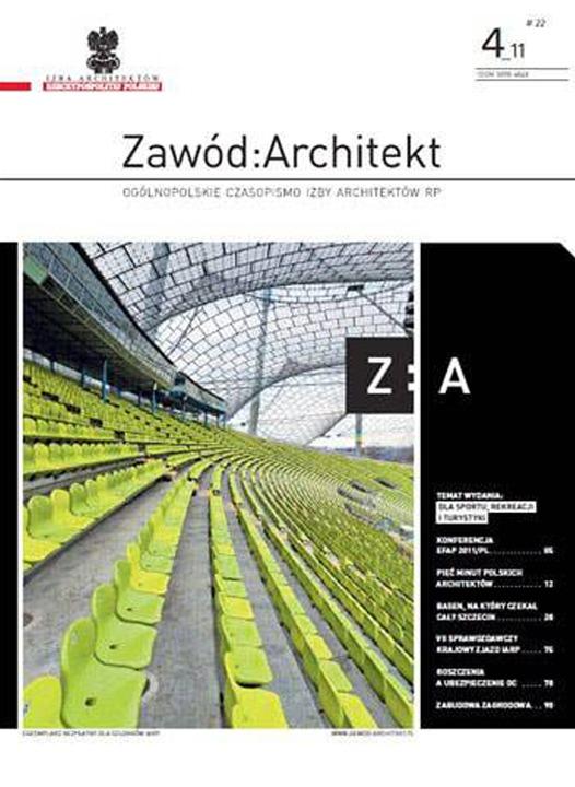 Zawód: Architekt 03/2011