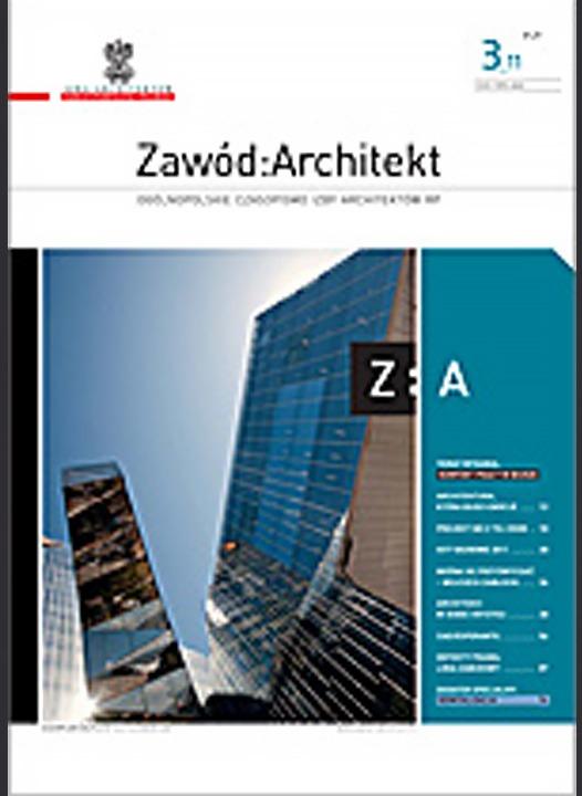 Zawód:Architekt 4/2011